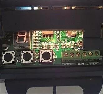 昌顺CHS电机遥控器匹配方法